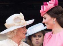 Kate Middleton umilia Camilla