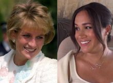 Lady Diana e Meghan Markle