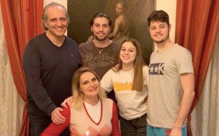 simona ventura famiglia