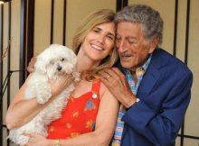 Tony Bennett e la moglie Susan Crow